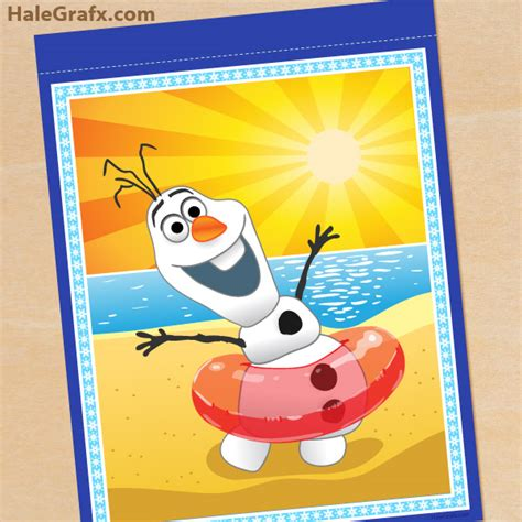 free printable olaf banner free frozen banner party invitations ideas