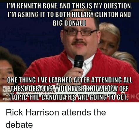 Kenneth Meme - i m kenneth bone and this is my ouestion im asking it to