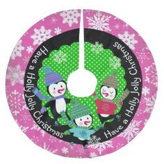 penguin jolly 4 tree skirt zazzle 1000 images about tree skirts on