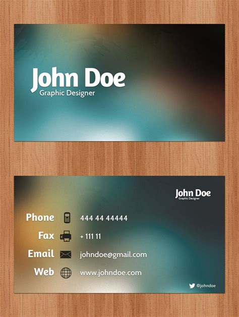 beautiful business cards templates business card template