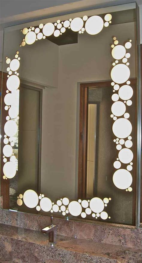 etched bathroom mirror bathroom mirrors sans soucie art glass