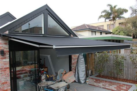 retracting awning motorised retractable awning retractable awnings