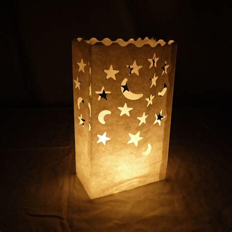 Paperbag Moon moon luminarias paper craft bag 10 pack retardant