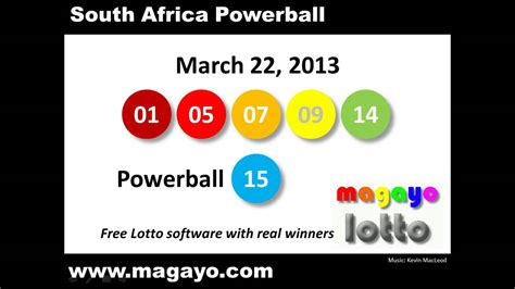 lotto powerball sa national lottery results autos post
