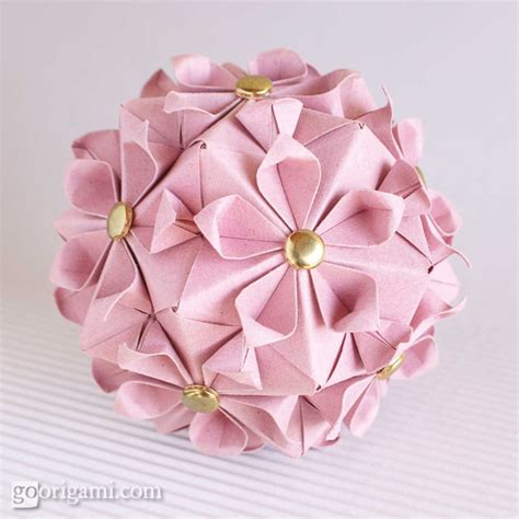 origami blossom unit origami by tomoko fuse book go origami