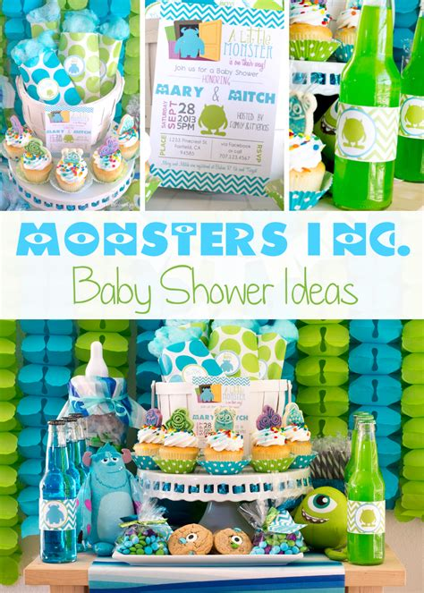 monsters inc decorations for baby shower monsters inc baby shower ideas