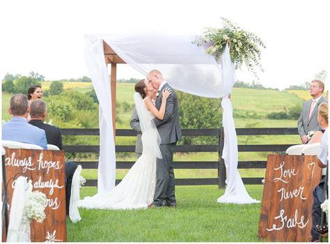 summer wedding at moonlight fields wedding farm in