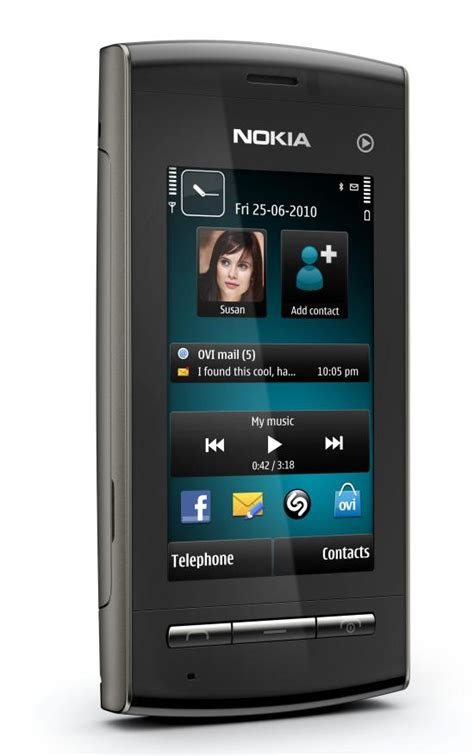 Nokia Mobile Touch Screen by 2011 2012 Nokia 5250 Basic Touch Screen Mobile Price