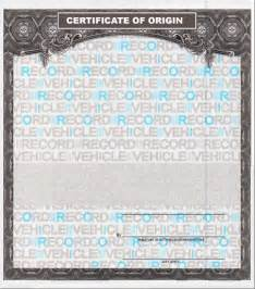 certificate of origin for a vehicle template unviversal mco mso forms for for motorcycle frames