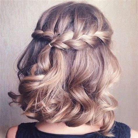 the 25 best short formal hairstyles ideas on pinterest 2018 popular cute hairstyles for short hair for homecoming