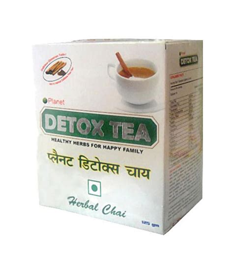 Planet K Detox Products by Planet Ayurveda Detox Tea 125 G Buy Planet Ayurveda