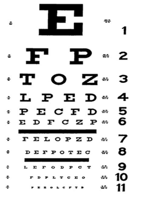 printable eye exam chart pdf 6 best images of snellen chart pdf printable snellen eye