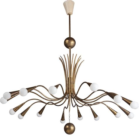 brass chandelier brass modern chandelier at 1stdibs