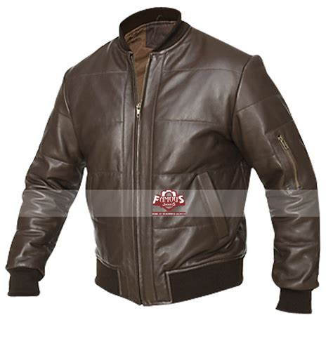 Jaketexpress Boomber Brown Jacket Boomber blouson mens bomber leather brown jacket