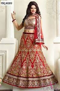latest ethnic designer lehenga style sarees and
