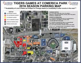 getting to comerica park parking at the park detroit