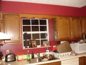 red kitchen paint ideas ham towne food family amp everything else another red