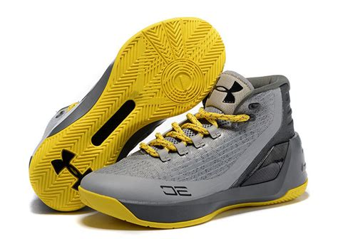 steph curry basketball shoes newest armour ua steph curry 3 grey yellow black