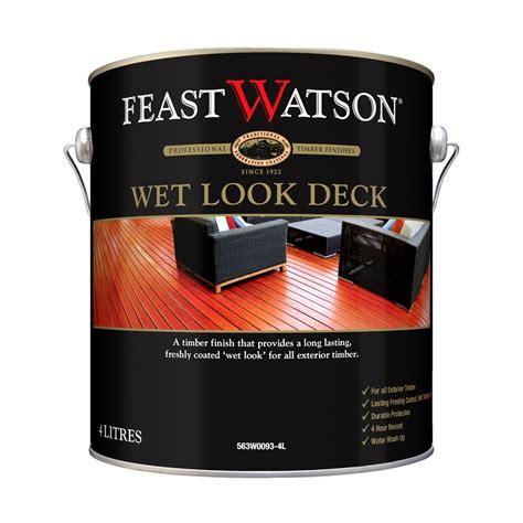 feast watson  wet  deck decking finish bunnings