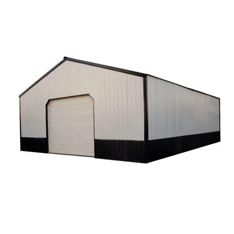100 Doors Floor 30 by 40 Ft X 50 Ft X 12 Ft Wood Pole Barn Garage