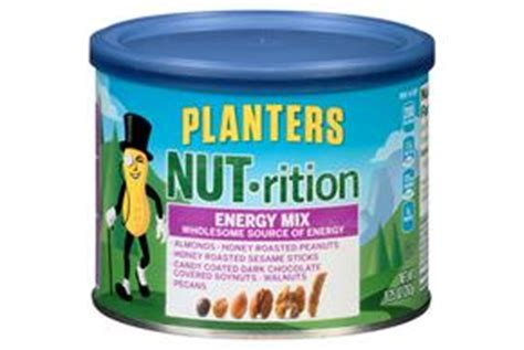 Planters Energy Mix by Planters Nut Rition Omega 3 Mix 9 25 Oz Kraft Recipes
