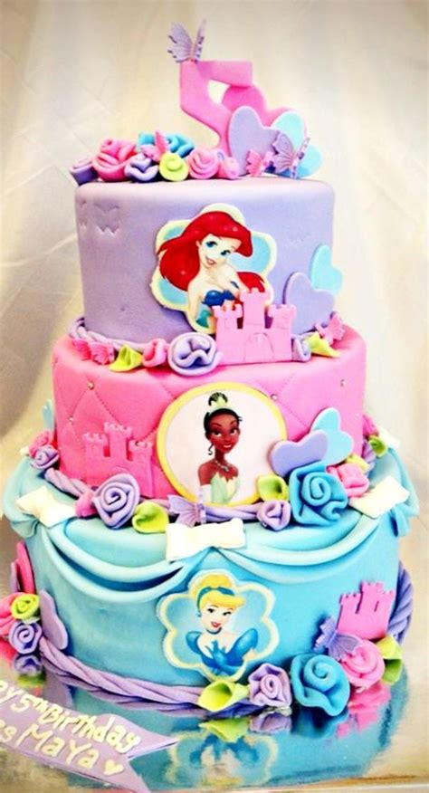 Princess Birthday Cake by 1096 Best Images About Princess Cakes On