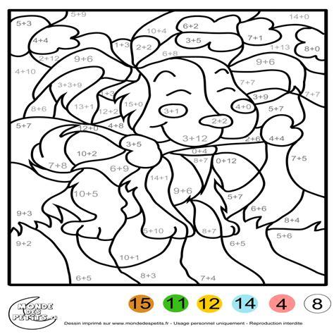 Coloriage Magique Cp Maths Coloriage Magique Ce1 Multiplication A Imprimer L