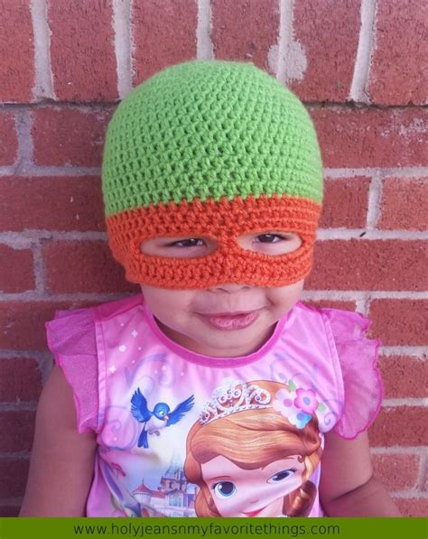 crochet pattern ninja turtle mask free crochet ninja turtle mask beanie pattern size small