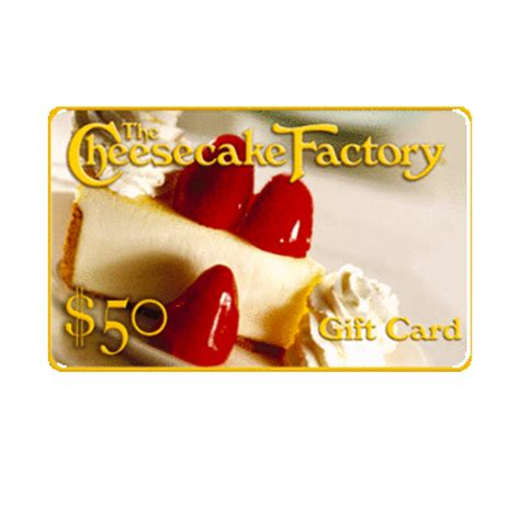 Cheesecake Factory Check Gift Card Balance - 50 in the cheesecake factory gift card brand new ebay