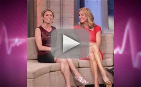 amy robach and lara spencer the hollywood gossip short amy robach slams lara spencer as shameless flirt gma feud
