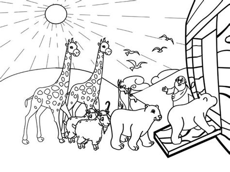 coloring pages noah ark preschool the world s catalog of ideas