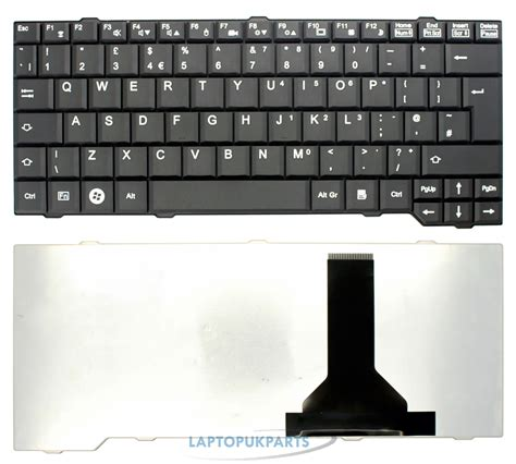 Keyboard Laptop Fujitsu L1010 for 13 3 quot fujitsu siemens amilo si3655 si 3655 laptop keyboard uk