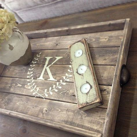 diy serving tray awesome pallet tray designs easy diy and crafts diy