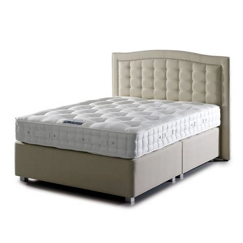 mattress bed hypnos warwick supreme double divan bed 135x190cm