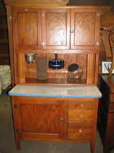 Antique Kitchen Furniture by Antique Bakers Cabinet Oak Hoosier Kitchen Cabinet