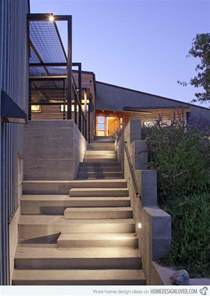 Front Entry Stairs Design Ideas 15 Concrete Exterior Staircase Design Decoration For House
