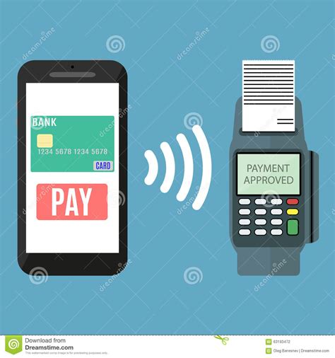 nfc mobile payments nfc payment flat design style stock vector image 63193472