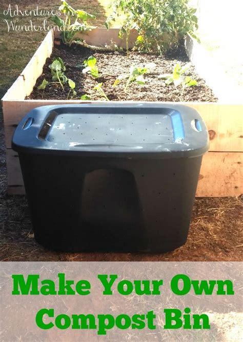 diy compost bin gardens diy compost bin and vegetables