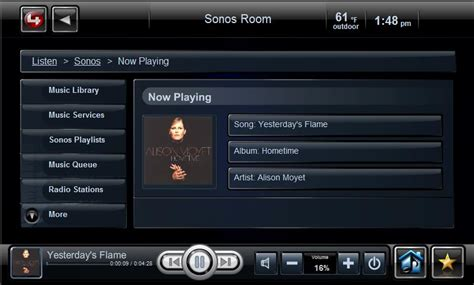 sonos ip control4 driver package