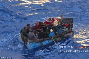 miami to cuba boat ride royal caribbean ship rescues eight refugees fleeing cuba