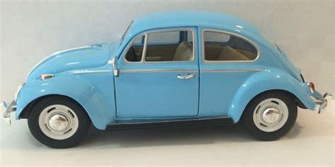 Kinsmart 1967 Volkswagen Classical Beetle Blue 1 kinsmart 1967 volkswagen vw classic beetle bug 1 24 diecast model car blue ebay