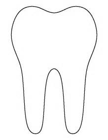 tooth templates free search results for printable template of teeth