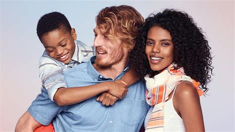 healthy wealthy moms country french decor photo s old navy ad with interracial family prompts social media