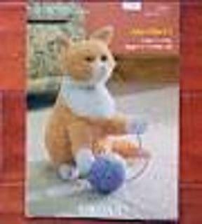 alan dart black and white cat knitting pattern ravelry knitted kitties ginger white cat pattern by