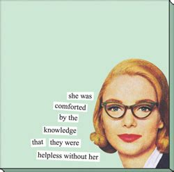 she was comforted by the knowledge holiday laughs from anne taintor createdbychicks