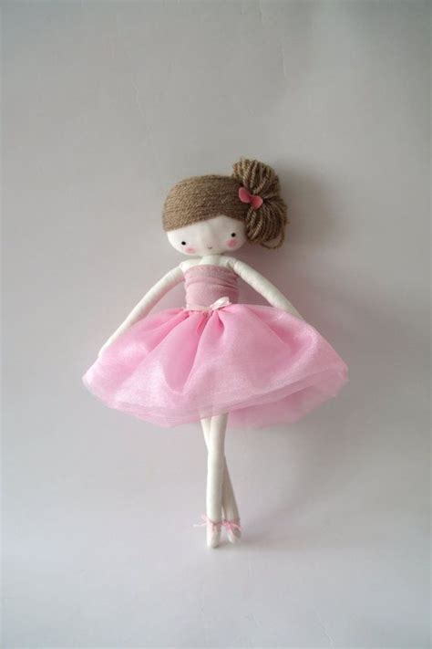 de floreros y bailarinas ballerina rag doll plush toy cloth art doll ballerina in