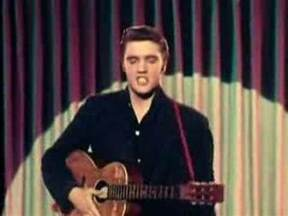 who sings in color elvis blue suede shoes color