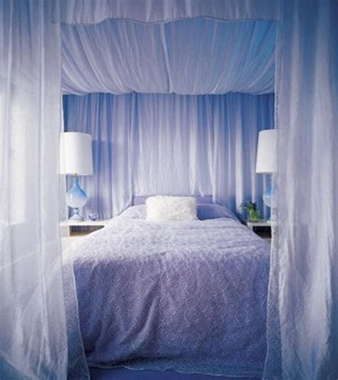 Canopy Beds With Drapes by Canopy Curtain For Bed Home Design