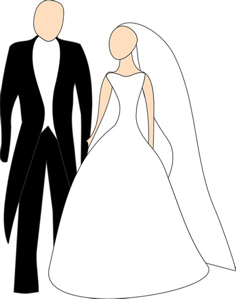 Animasi Wedding Png by Free Vector Graphic Broom Wedding Dress Free