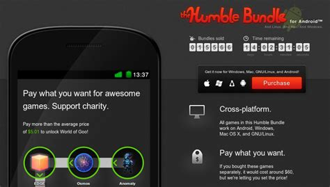 humble bundle android humble bundle f 252 r android anomaly osmos und edge und world of goo linux und ich